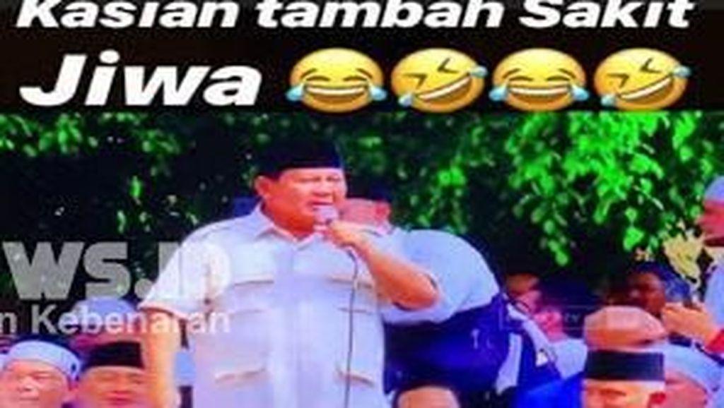 Heboh karena Dianggap Hina Prabowo, Erin Taulany Tak Ada di Rumah