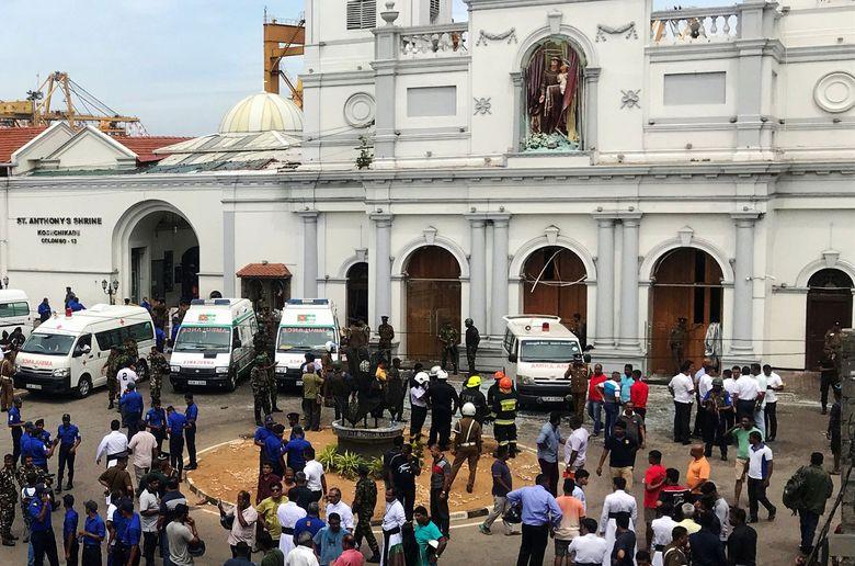 Sedikitnya 20 Orang Tewas Akibat Ledakan di 3 Gereja dan 3 Hotel di Sri Lanka