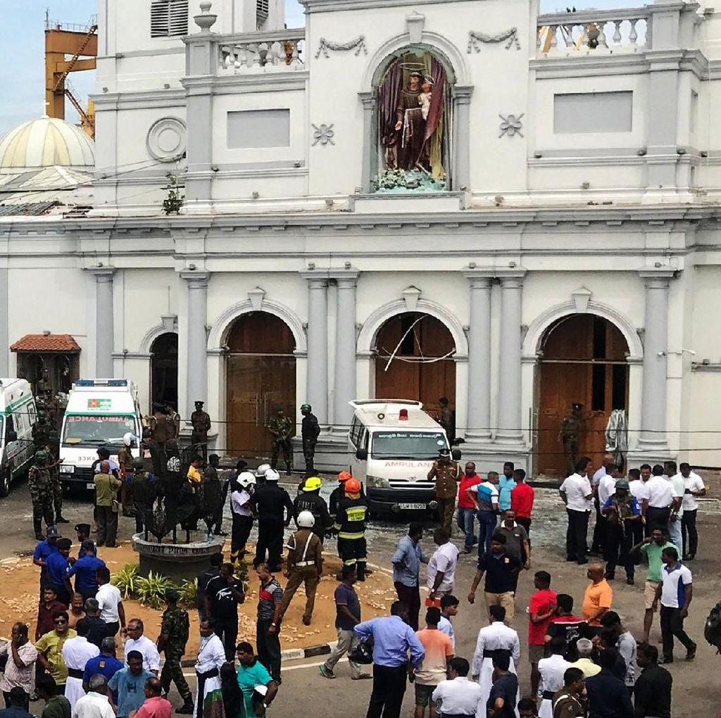 Video: Detik-detik Pelaku Bom Sri Lanka Beraksi di Gereja