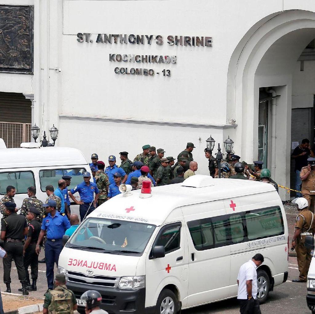 Sudah 290 Orang Tewas Akibat Bom Paskah di Sri Lanka, 24 Orang Ditangkap