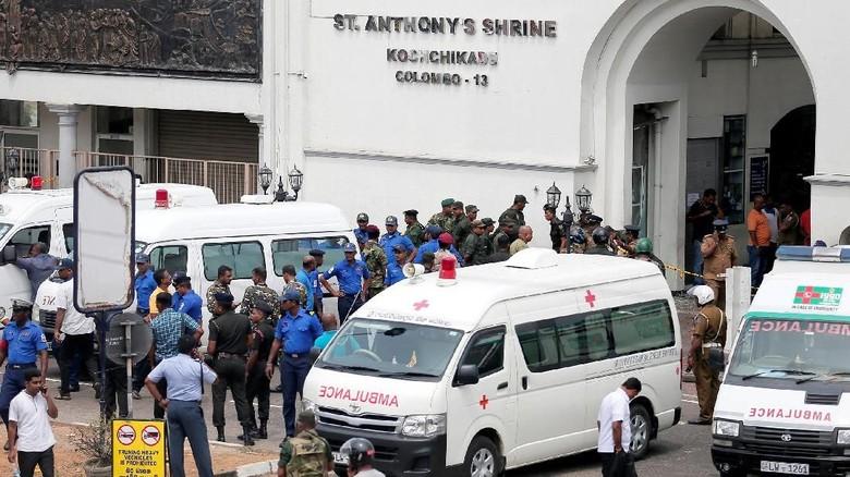 Kemlu: Hingga Saat Ini Tak Ada WNI Jadi Korban Bom di Sri Lanka