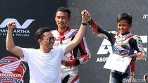 Top! Bocah Kelas 6 SD Ini Juara di Indonesia CBR Race Day