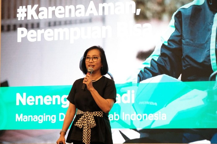 Managing Director Grab Indonesia Neneng Goenadi/Foto: Grab