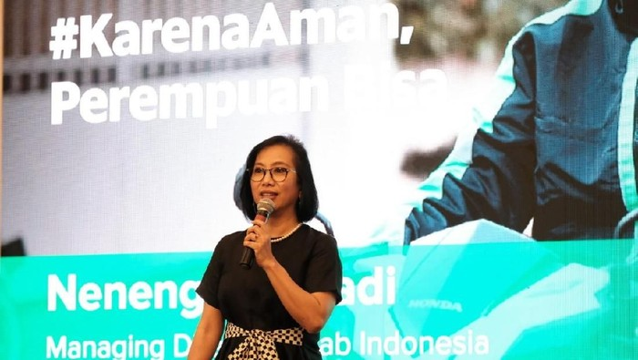 Managing Director Grab Indonesia Neneng Goenadi