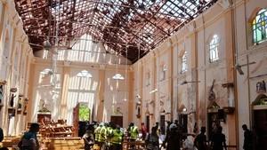 Porak-poranda, Begini Kondisi Gereja dan Hotel di Sri Lanka yang Diteror Bom