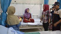Menjenguk Siti, Pengawas TPS yang Melahirkan Prematur Saat Bertugas