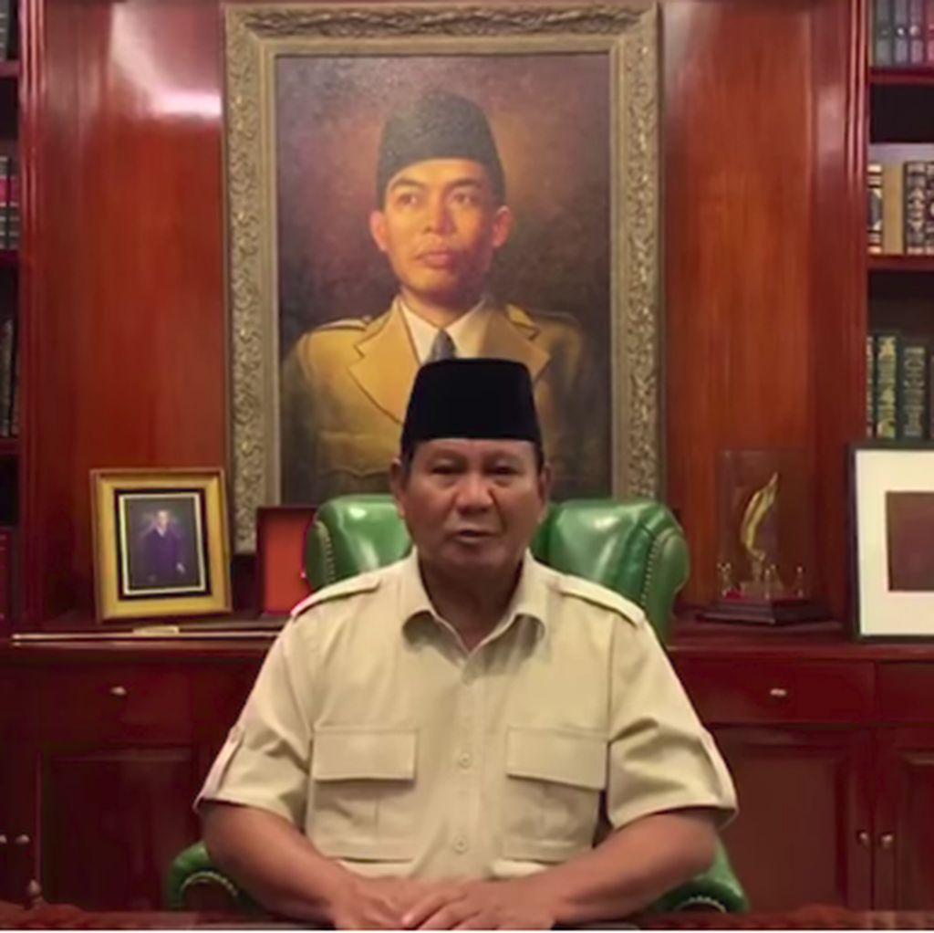 Usai Rapat Tertutup, Prabowo Kirim Pesan Kedamaian Lewat Muzani