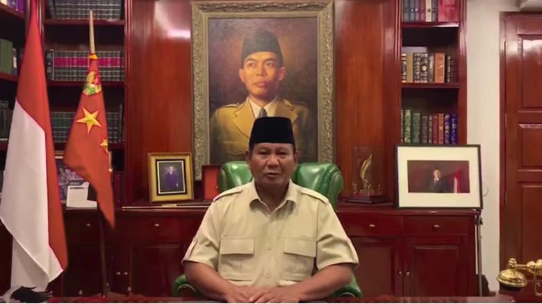 Di Hadapan Massa Buruh, Prabowo Pamer Nama Baru dari Para Ulama
