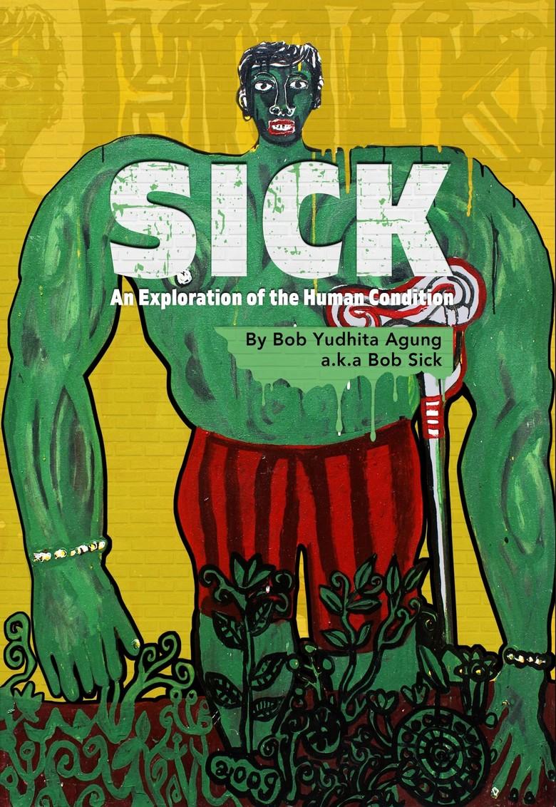 Seniman Bob Sick Pamer 9 Lukisan di Kuala Lumpur
