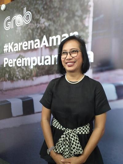 Managing Director Grab Indonesia Neneng Goenadi. (Foto: Mustiana Lestari)