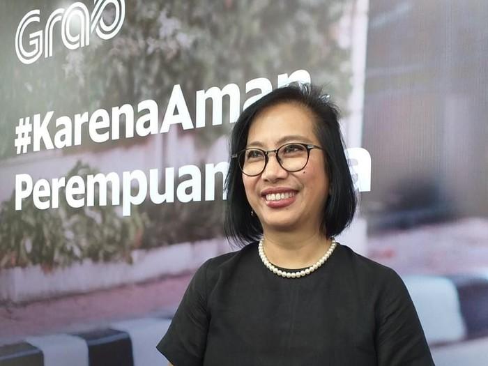 Managing Director Grab Indonesia Neneng Goenadi/ Foto: Mustiana Lestari