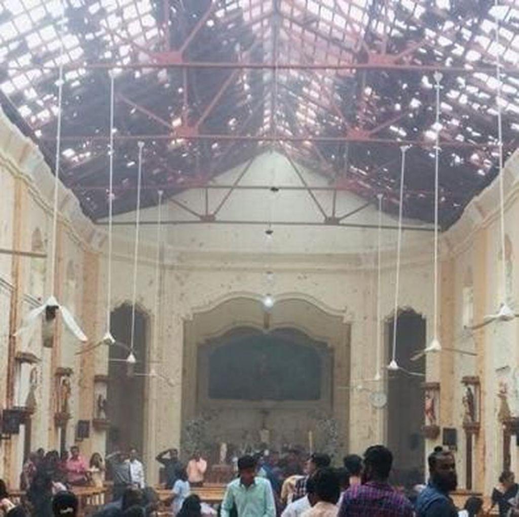 7 Orang Ditangkap Usai Seragan Bom di Gereja dan Hotel Sri Lanka