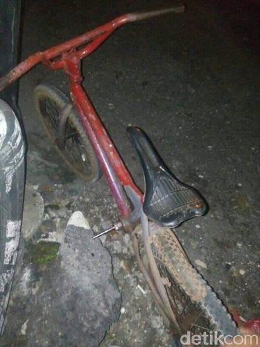 Sepeda ini tak punya rem