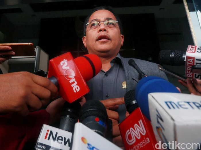 Foto: Sekretaris Jenderal DPR RI, Indra Iskandar (Ari Saputra/detikcom)