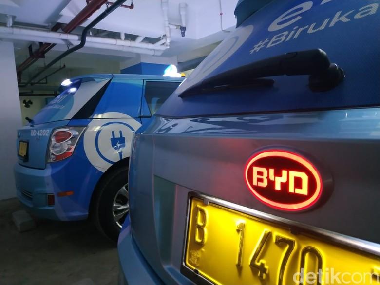 Taksi Listrik Bluebird, BYD e6