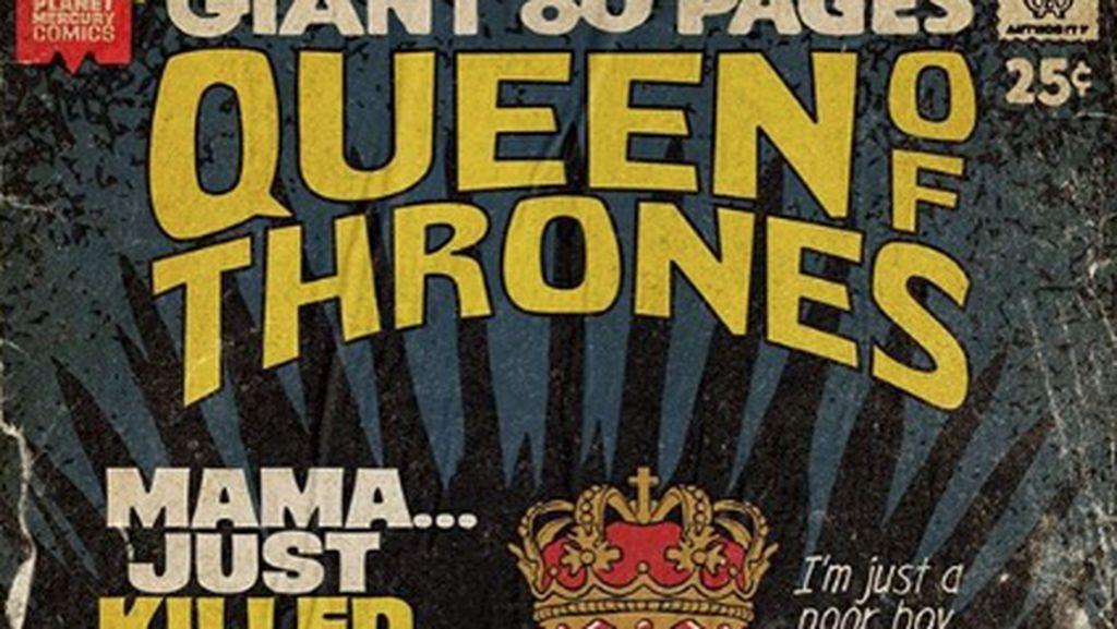 Superhero Hingga Game of Thrones! Saat Lagu Queen Jadi Cover Komik