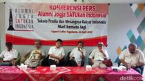Relawan Jokowi di Yogya: Tak Ada Lagi Cebong dan Kampret!