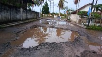 Pemprov Sumsel Targetkan Perbaikan Jalan Rusak Selesai H-5 Lebaran