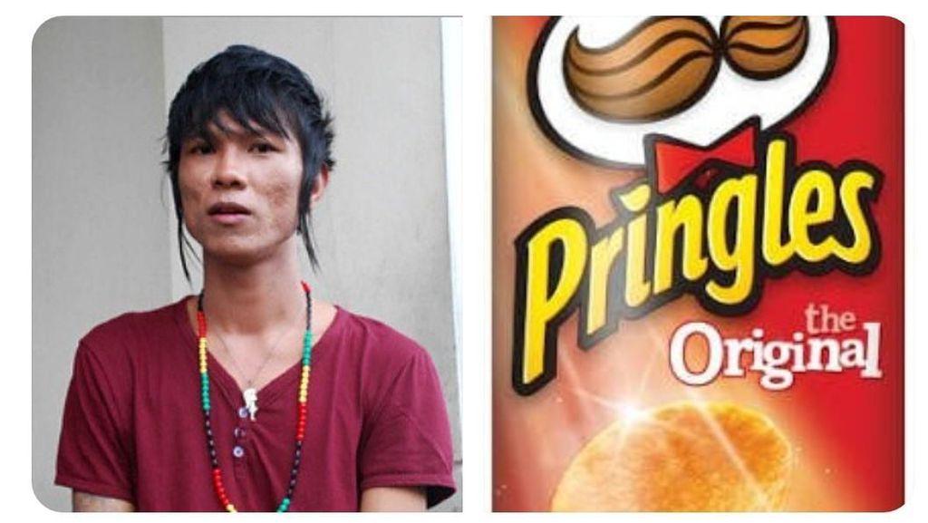 Giliran Tampilan Babang Tamvan Andika Mahesa yang Disamakan dengan Pringles