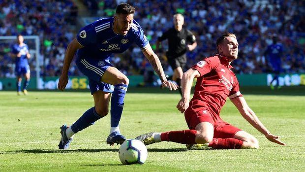 Liverpool susah payah mengalahkan tim zona degradasi, Cardiff City. (