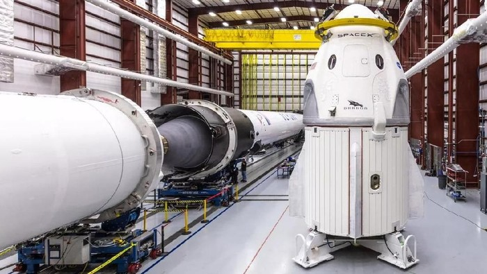 Kapsul Crew Dragon. Foto: SpaceX
