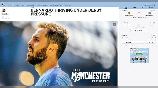 Man City menggunakan nuansa Avengers: Endgame untuk promo Derby Manchester.
