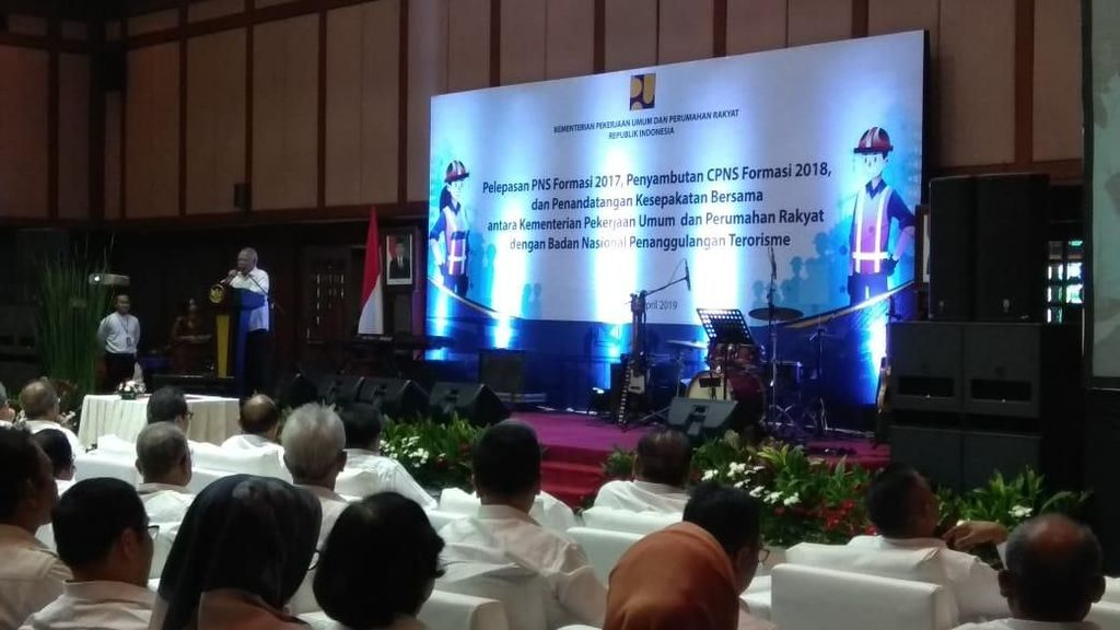 3 Wejangan Basuki untuk 1.000 CPNS Kementerian PUPR