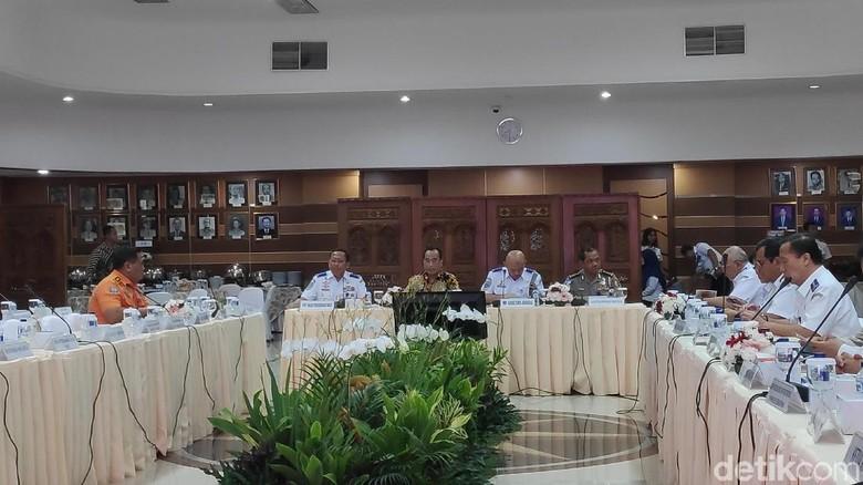 Kemenhub hingga Polri Rapat Bahas Persiapan Mudik Lebaran 2019