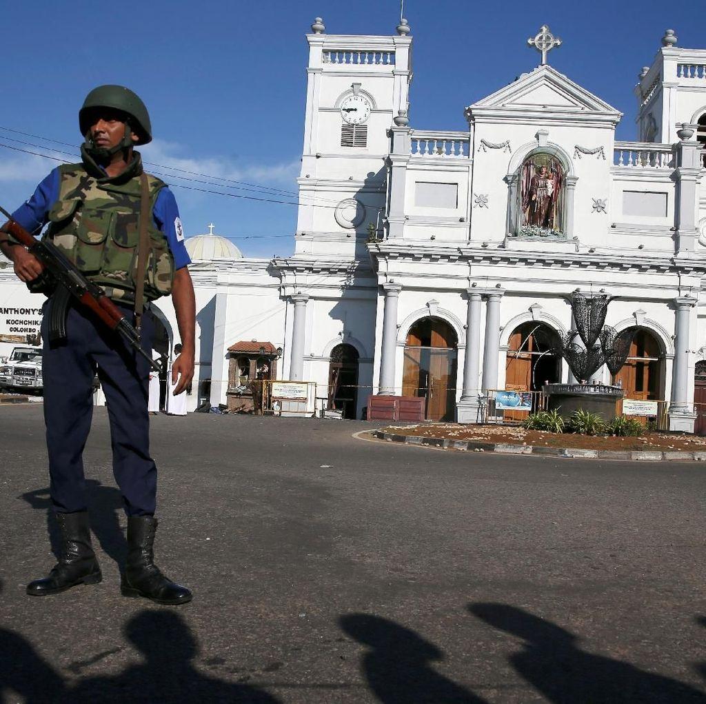 Lebih dari 6 Ribu Tentara Sri Lanka Dikerahkan Buru Tersangka Bom Paskah