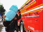 Api Padam, Pedagang Blok C Tanah Abang Evakuasi Dagangan