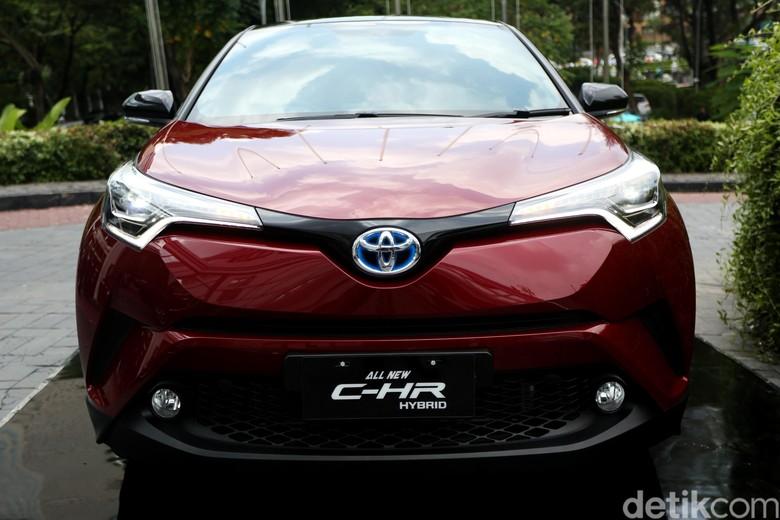 Toyota C-HR Hybrid. Foto: Agung Pambudhy