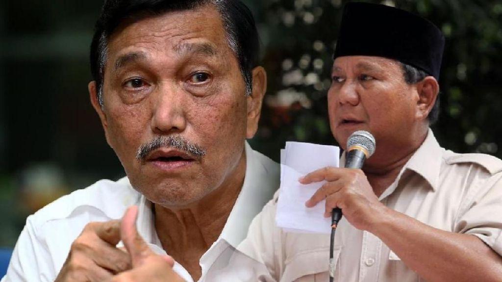 Bicara Kinerja Menhan Prabowo, Luhut: Mantap, Bagus Dia