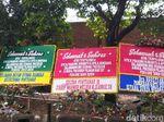 Ada Karangan Bunga Sultan Pontianak IX-Walkot Bukittinggi di Rumah Prabowo