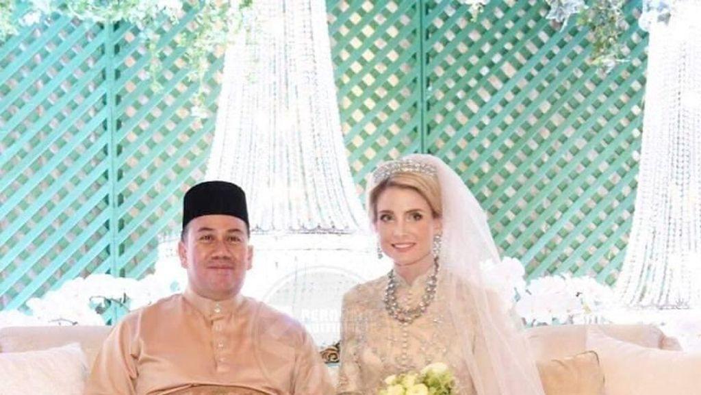 Potret Cantik Wanita Swedia yang Resmi Dinikahi Putra Mahkota Kelantan