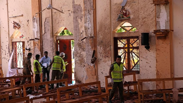 Kesaksian Keluarga Fernando yang Lolos dari Bom Paskah di Sri Lanka