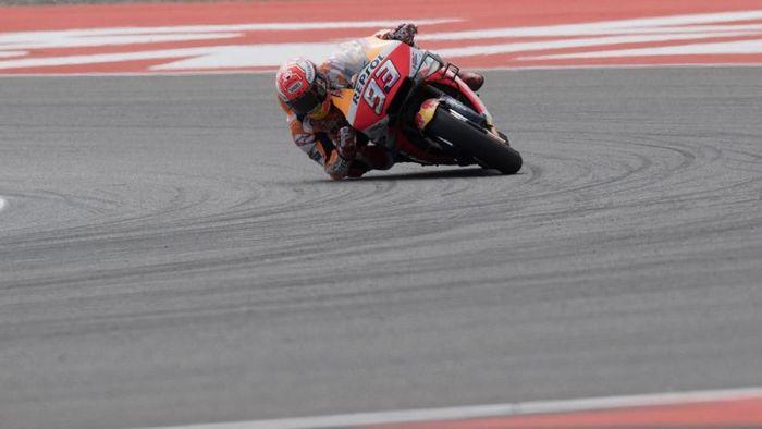Aksi Marc Marquez di salah satu seri MotoGP 2019. (Foto: Mirco Lazzari gp/Getty Images)