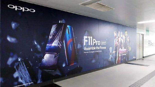 Lusa, Oppo Perkenalkan F11 Pro Edisi Avengers di Indonesia