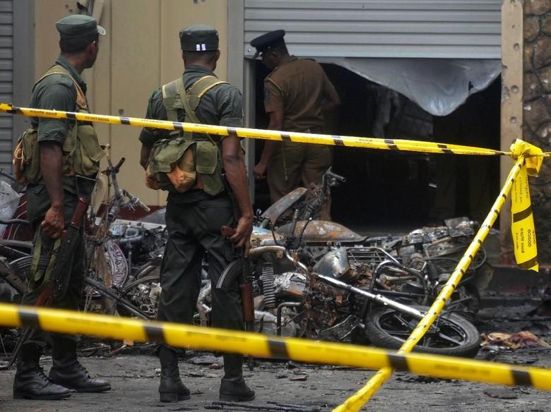 1 Pengebom Sri Lanka Sempat Gagal Meledakkan Diri dan Ubah Rencana