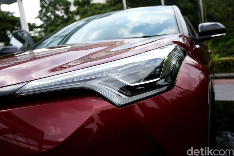 Toyota C-HR Hybrid Foto: Agung Pambudhy