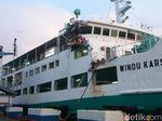 Dua Kapal Senggolan di Merak, Penumpang Dievakuasi