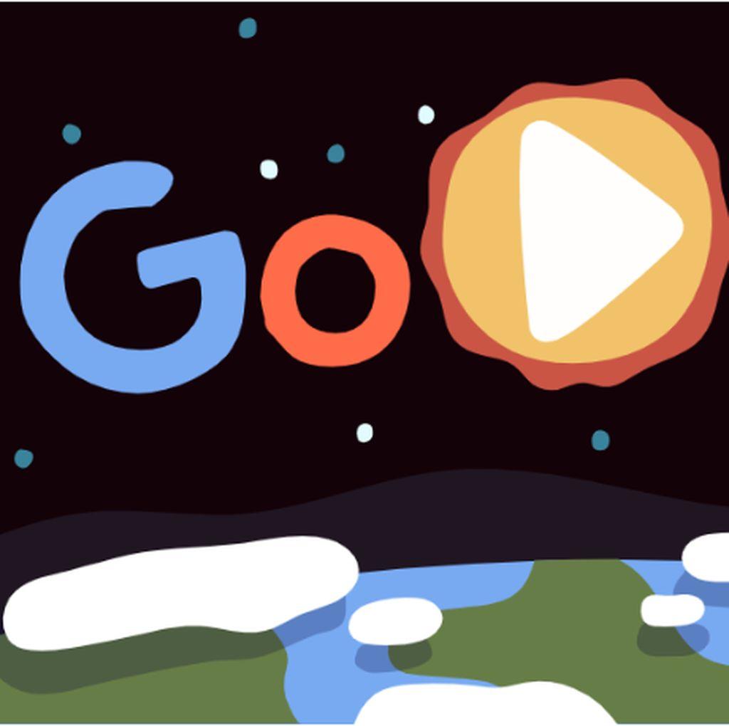Google Doodle Rayakan Hari Bumi 2019