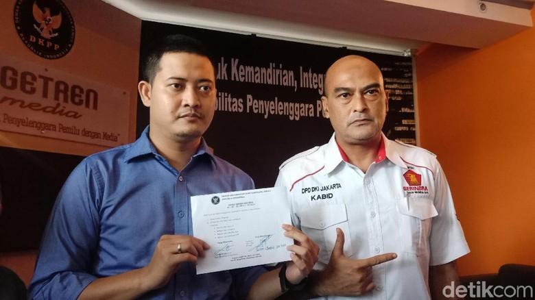Gerindra Laporkan Bawaslu Jakut ke DKPP soal OTT Staf M Taufik