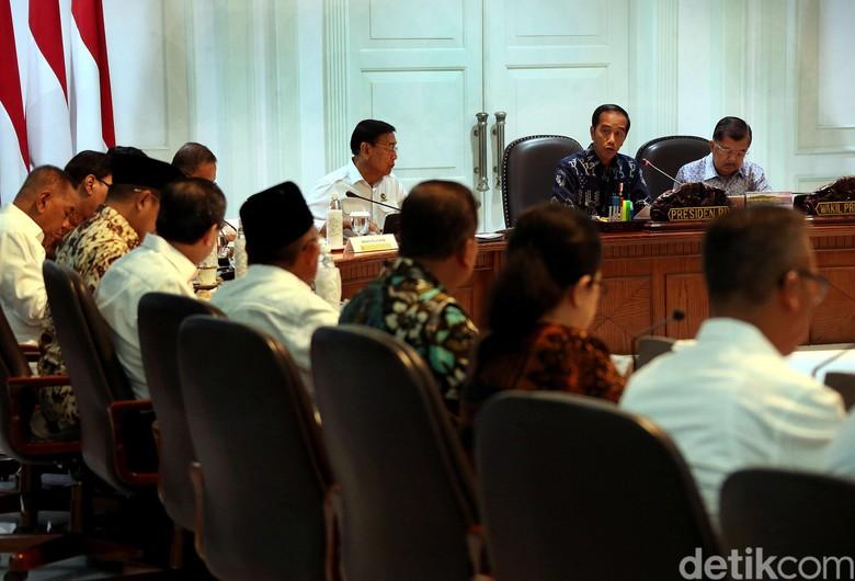 Didorong Susun Kabinet Zaken, Ini Komposisi Kabinet Kerja Jokowi Saat Ini