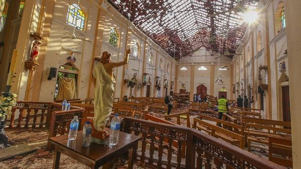 Usai Bom Paskah, Muslim Sri Lanka Takut Keluar Rumah