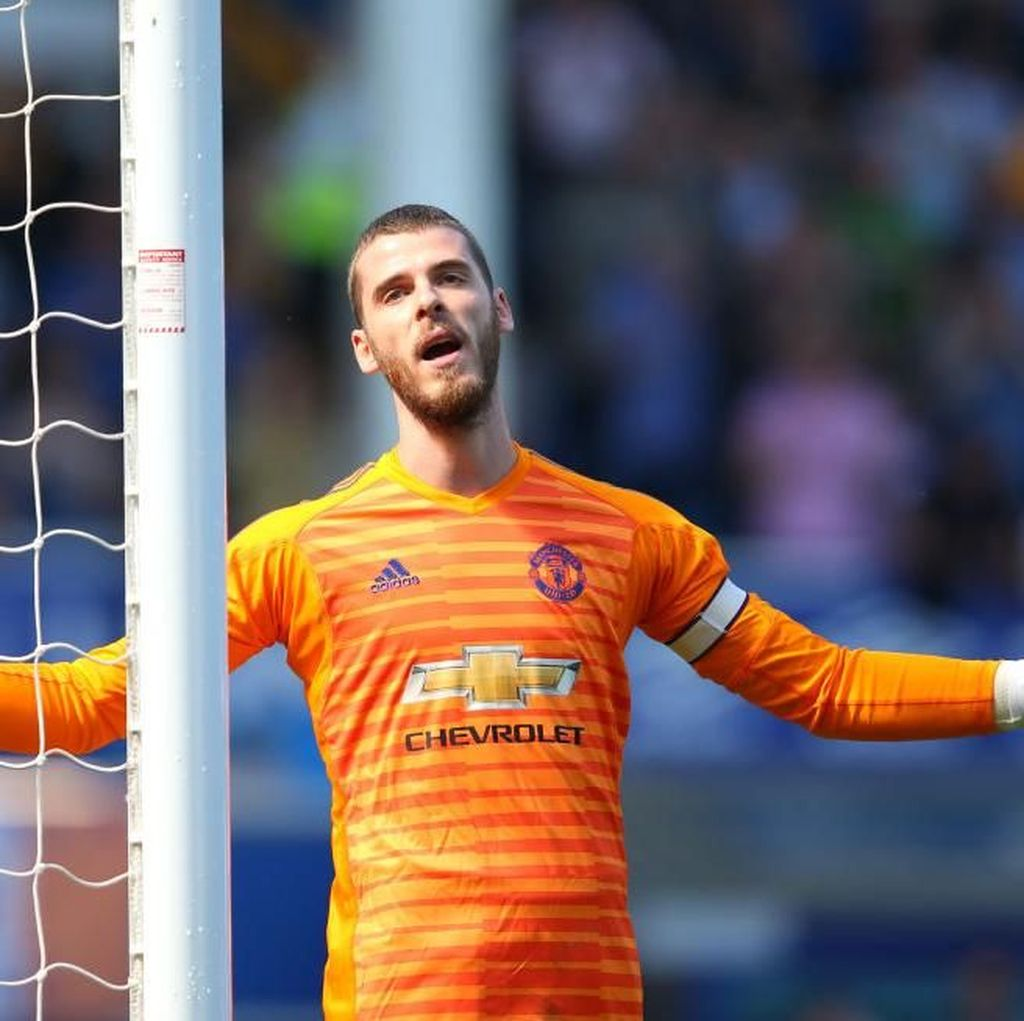 MU Dilumat Everton, De Gea Sampai Kehabisan Kata-Kata