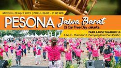 Pesona Jawa Barat Akan Ramaikan Car Free Day di Jakarta