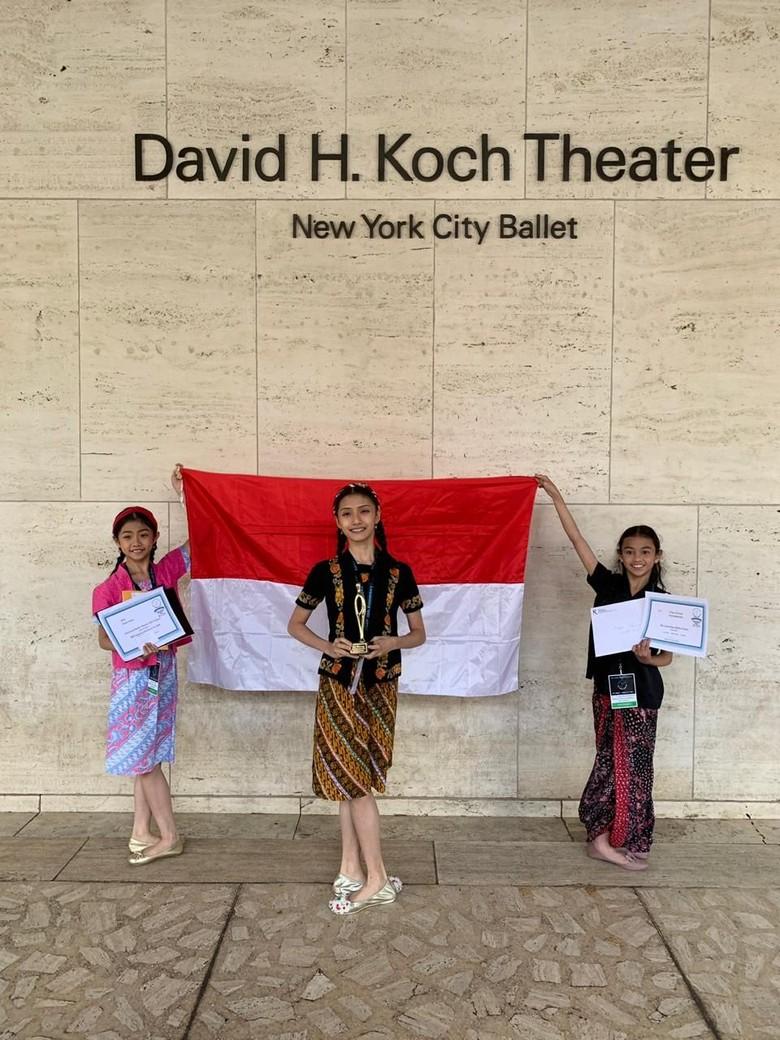Keren! Balerina Indonesia Kembali Juarai Kompetisi Dunia di New York