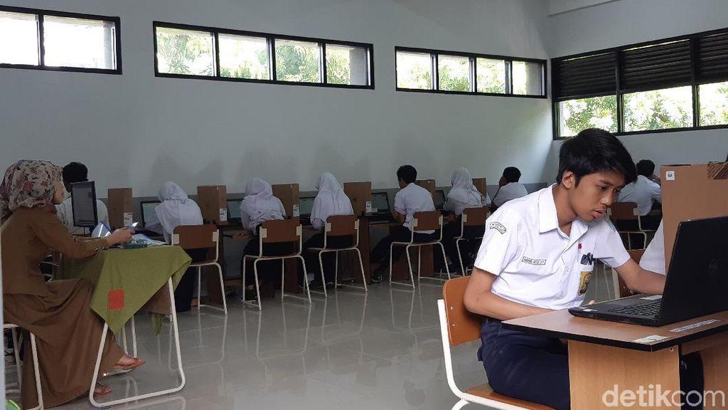34.862 Siswa SMP di Kota Bandung Ikuti UNBK