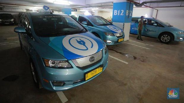 Pertama Kali di RI, Ini 2 Tipe Mobil Listrik Taksi Blue Bird