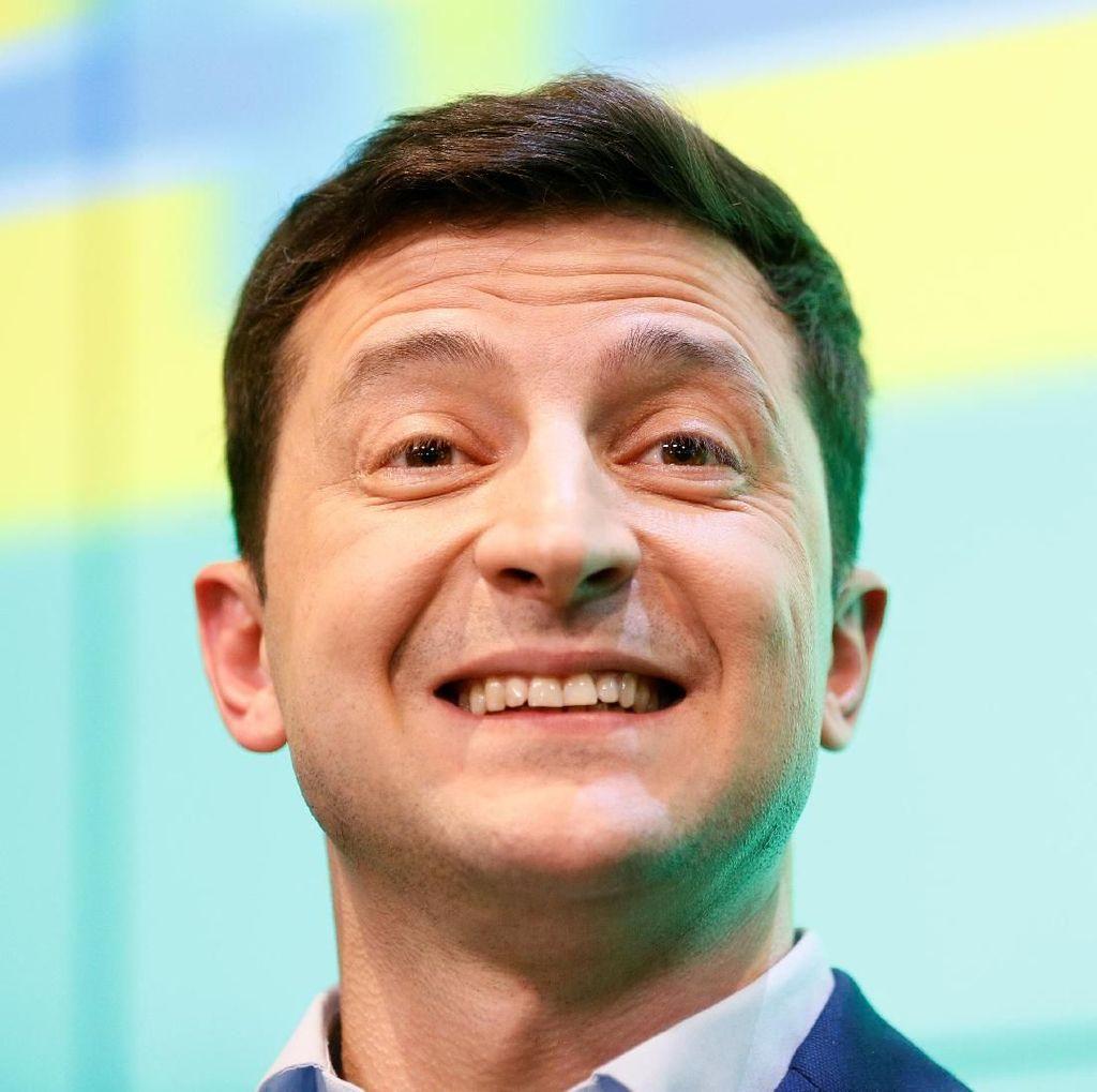 Penghitungan Suara 30 Persen, Ini Janji Pelawak yang Kalahkan Petahana Ukraina